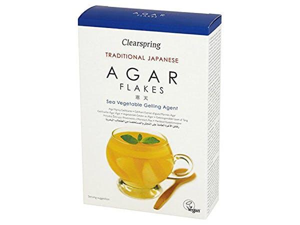 Clearspring  Agar Flakes Vegetarian Alternative To Gelatine