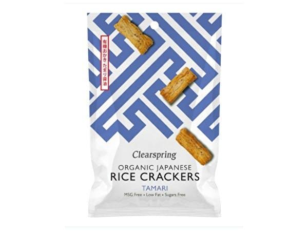 Clearspring  Japanese Tamari Rice Crackers - Organic