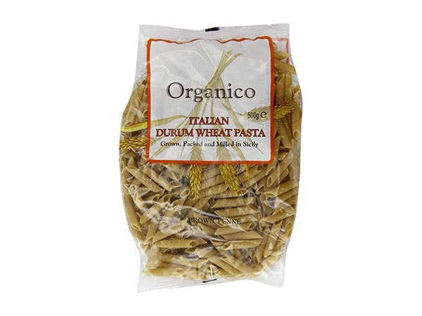 Organico  Wholewheat Penne Quills