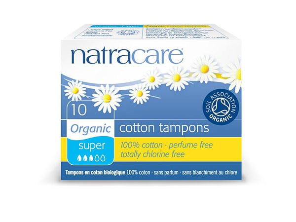 Natracare  Tampons Super - Organic