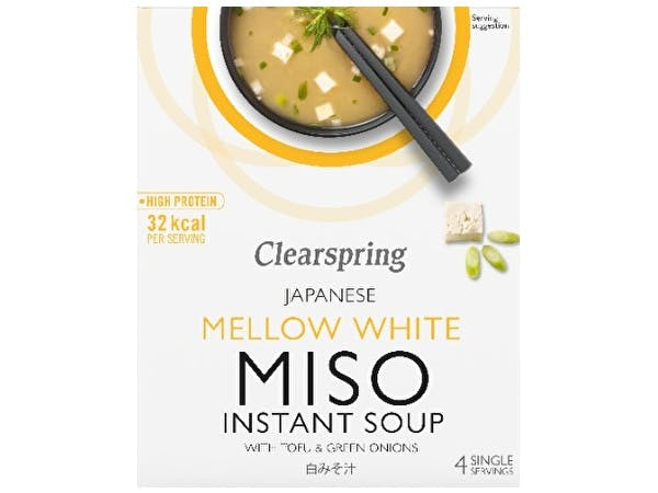 Instant Miso Soup - Mellow White With Tofu
