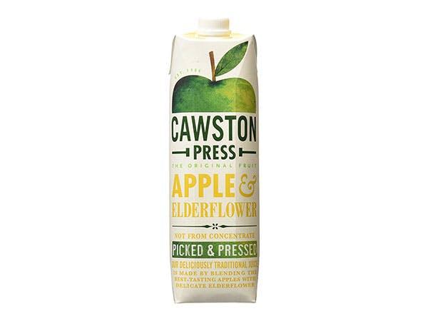 Cawston  Apple & Elderflower Juice - Pressed