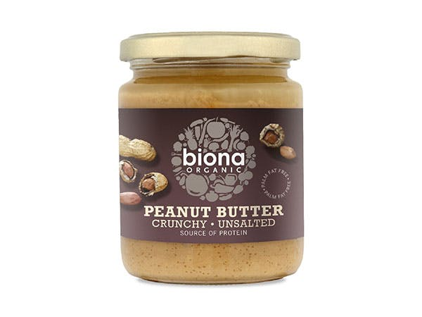 Biona  Peanut Butter - Crunchy Sea Salt