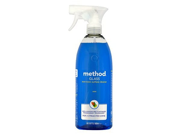 Method  Glass Cleaning Spray - Blue