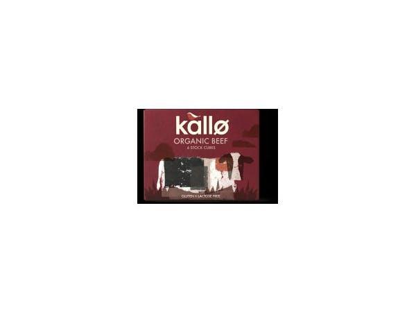 Kallo  Beef Stock Cubes - Organic