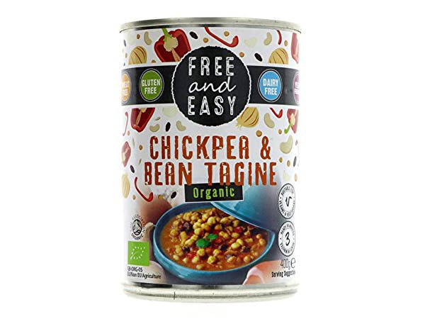 Free & Easy  Chickpea & Bean Tagine