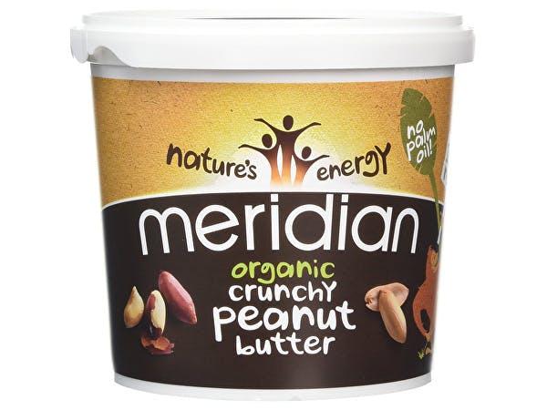 Meridian  Organic Peanut Butter - Crunchy 100% Nuts
