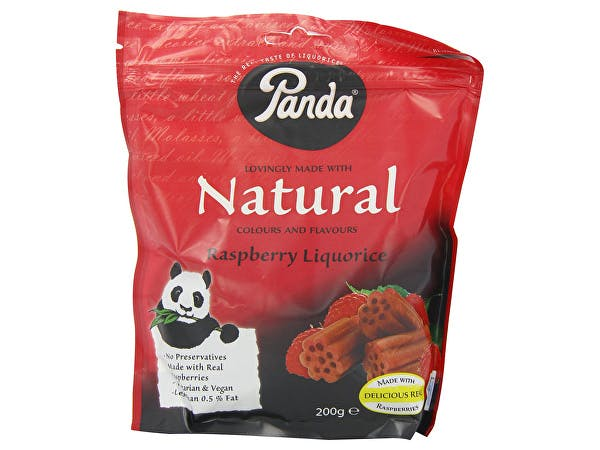 Panda  Raspberry Licorice - All Natural