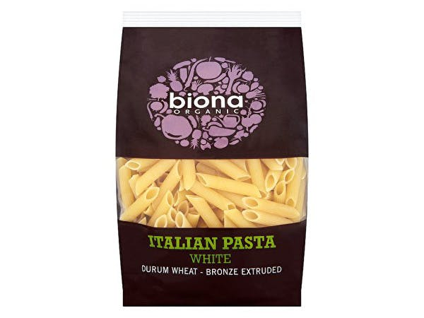 Biona  White Penne - Bronze Extruded