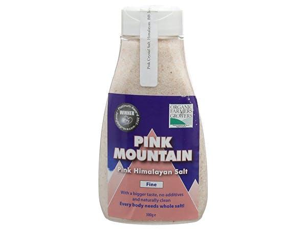 Pink Mountain  Fine Himalayan Pink Salt Shaker Jar