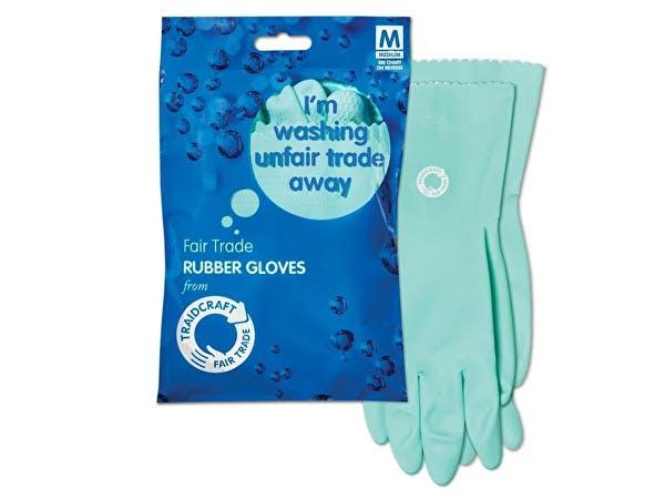 Traidcraft  Fairtrade Rubber Gloves