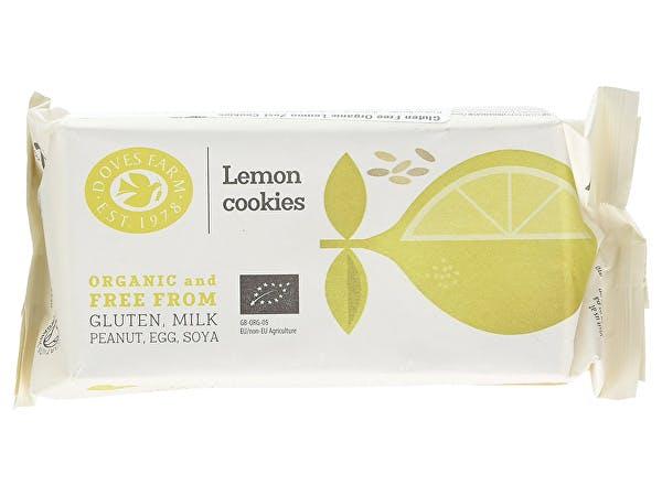 Doves Farm  Lemon Zest Cookies - Fairtrade