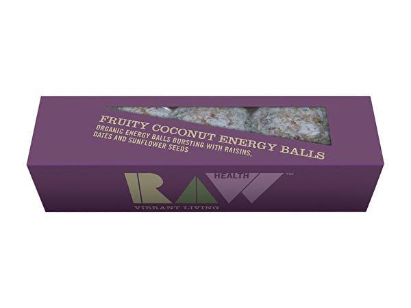 Raw Health  Fruity Coconut Energy Balls