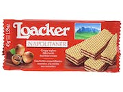 Loacker  Napolitaner Hazelnut Creme Filled Wafer