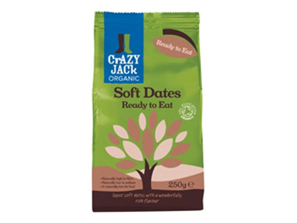 Crazy Jack  Ready To Eat - Soft Dried Dates