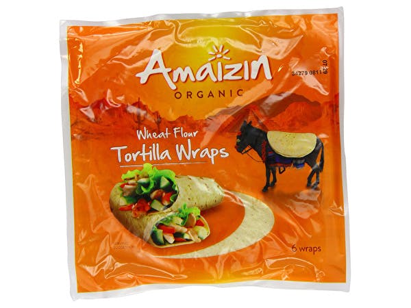 Amaizin  Tortilla Wraps - Semifresh (6 Wraps)