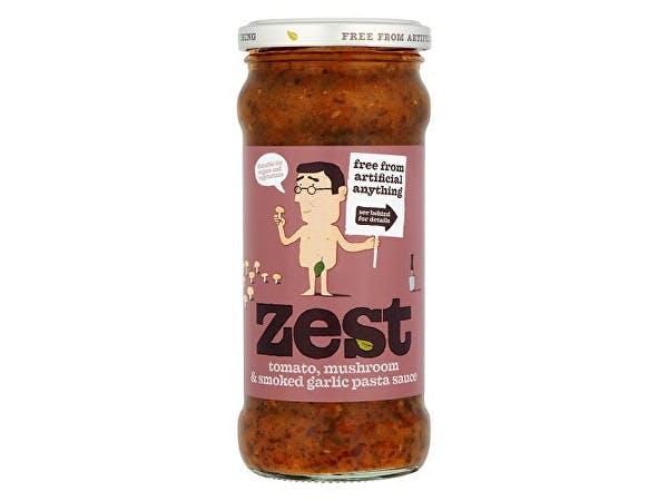 Zest  Tomato Mushroom & Smoked Garlic Pasta Sauce