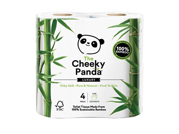 Plastic Free Bamboo 3ply Toilet Rolls