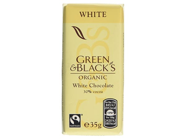 Green & Blacks  White Chocolate Bar
