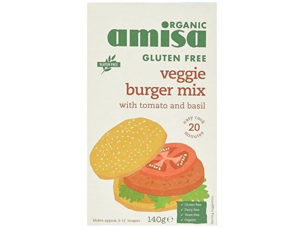Amisa  Gluten Free Veggie Burger Mix
