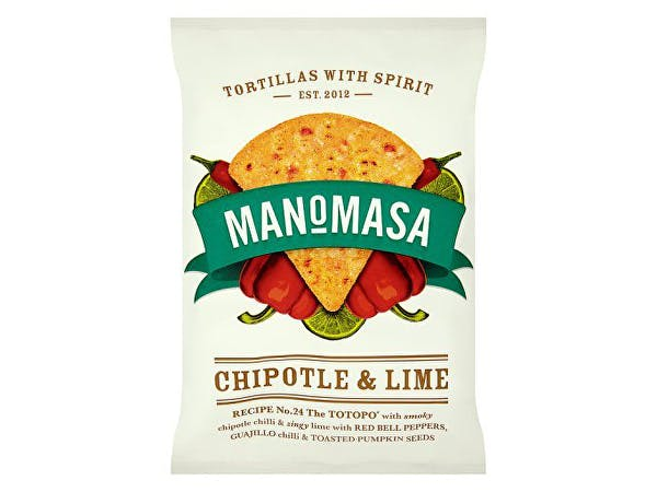 Manomasa  Tortilla Chips - Chipotle & Lime