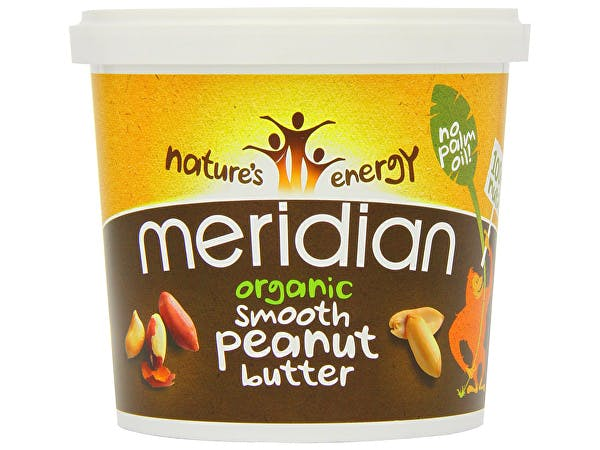 Meridian  Organic Peanut Butter  - Smooth 100% Nuts