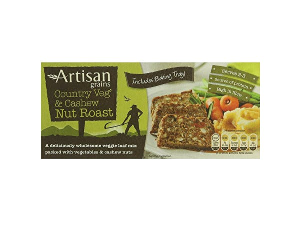 Artisan Grains  Nut Roast - Country Veg & Cashew