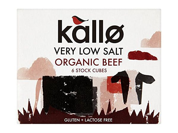Kallo  Beef Stock Cubes - Low Salt & Organic