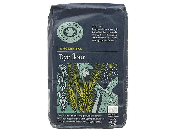 Doves Farm  Rye Wholemeal Flour - Organic