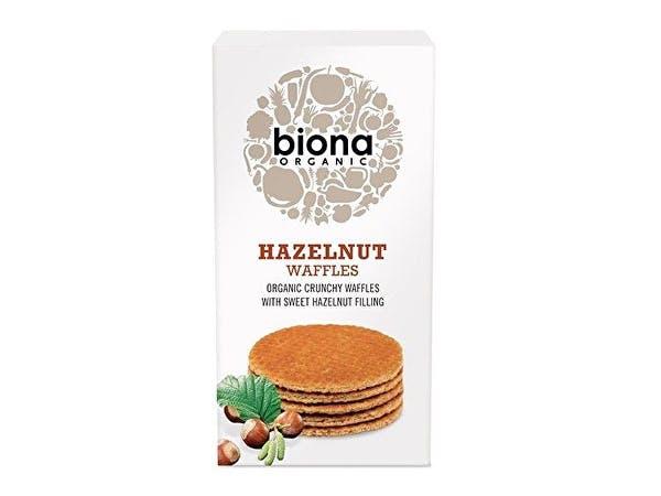 Biona  Hazelnut Waffles