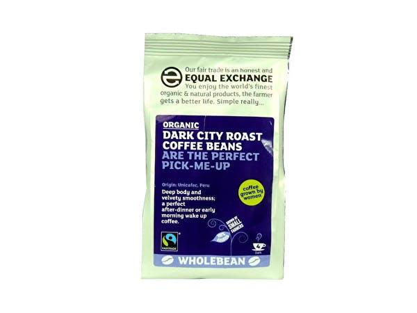 Equal Exchange  Dark City Roast Coffee Beans