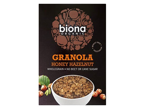 Biona  Organic Honey Hazel Granola