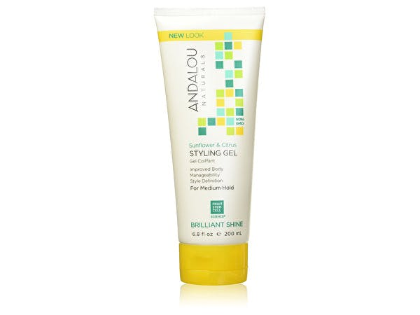Andalou  Sunflower & Citrus Brilliant Shine Styling Gel
