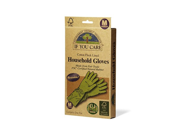 If You Care  Medium Latex Household Gloves