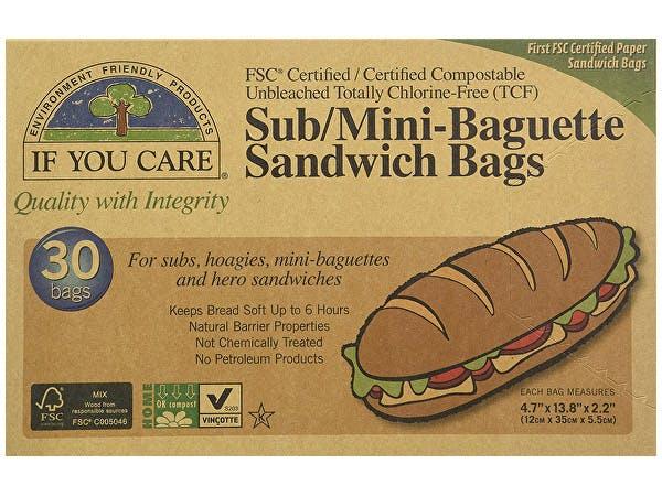 If You Care  Sub & Baguette Sandwich Bags