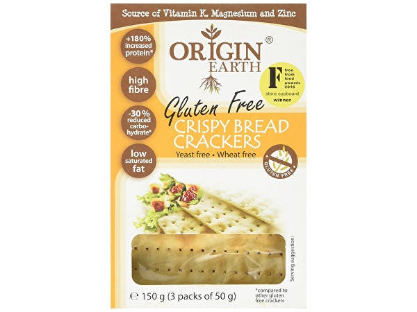 Origin Earth  Gluten Free Crackers