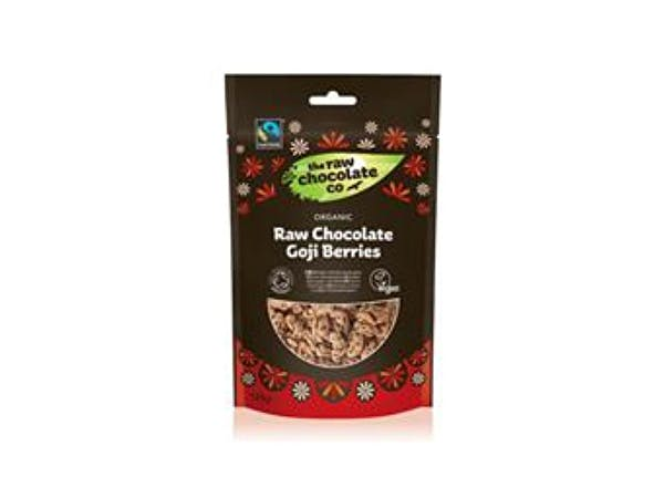 Raw Choc Co  Raw Chocolate Goji Berries