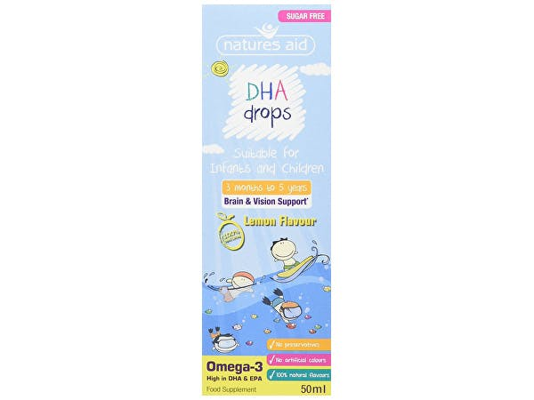 Natures Aid  Children's Omega-3 Dha Drops