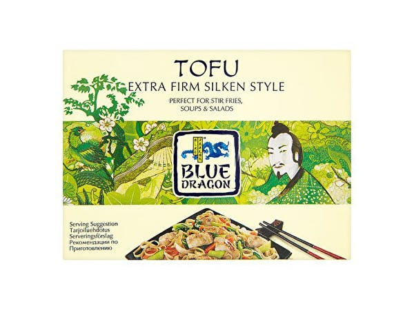 Blue Dragon  Firm Silken Style Tofu