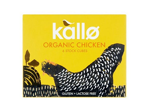 Kallo  Chicken Stock Cubes - Organic
