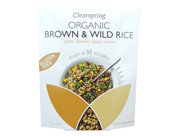 Clearspring  90 Second Brown Rice with Tamari
