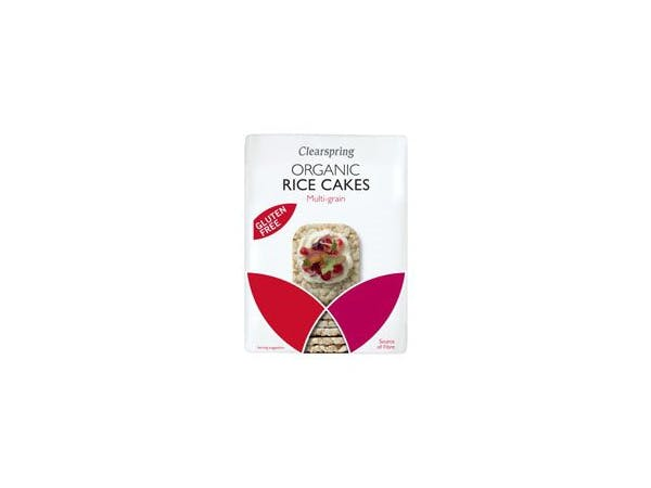 Clearspring  Multigrain Rice Cakes - Organic