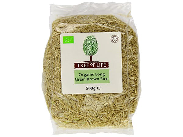 Tree Of Life  Organic Rice - Brown Long Grain