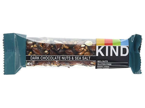 Kind  Dark Choc Nuts & Sea Salt Bar