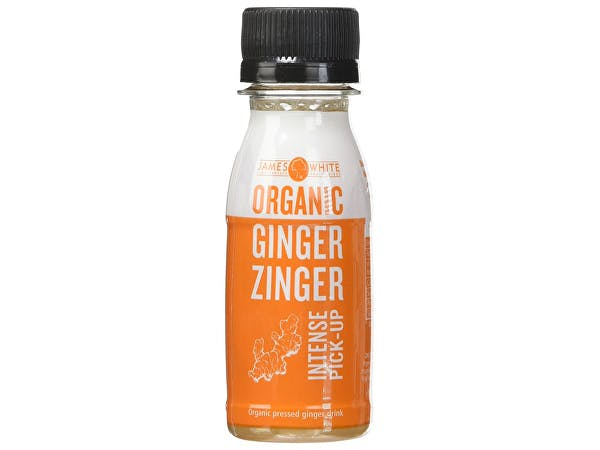James White  Organic Ginger Zinger Shot