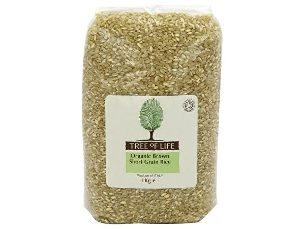 Tree Of Life  Organic Rice - Brown Short Grain
