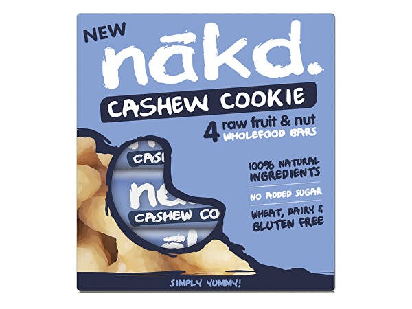 Nakd  Cashew Cookie Bar - Multipack