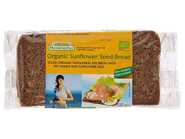 Mestemacher  Sunflower Seed Bread - Organic