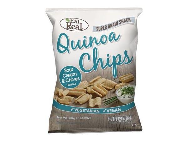 Quinoa Sour Cream Chips