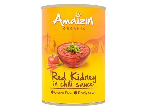 Red Kidney Beans In Chilli Sauce